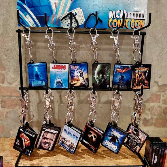 Miniature Movie/Film DVD Keychains, Keyring