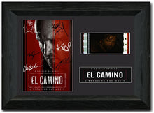 Load image into Gallery viewer, El Camino S1 Cast Signed 35mm Framed Film Cell Display