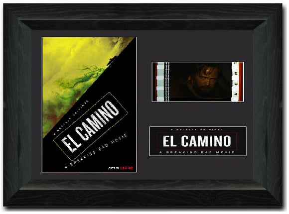 El Camino S2 35mm Framed Film Cell Display