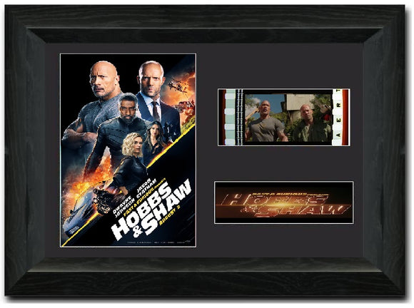Hobbs & Shaw 35mm Framed Film Cell Display