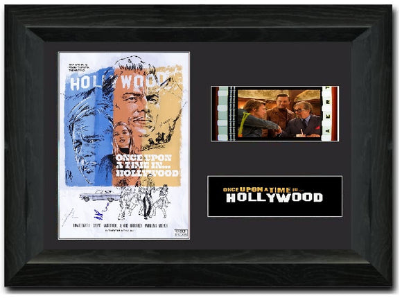 Once Upon A Time In Hollywood S2 35mm Framed Film Cell Display Signed