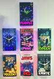 Alice in Wonderland Retro Original Backlit LED VHS Clock