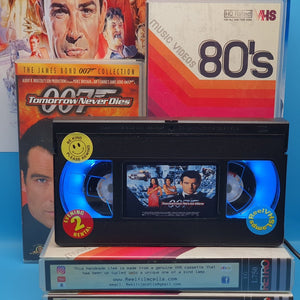 Tomorrow Never Dies Retro VHS Lamp
