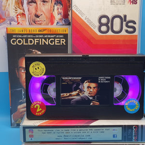 Goldfinger Retro VHS Lamp