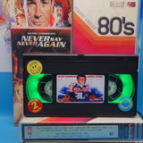 Never Say Never Again Retro VHS Lamp