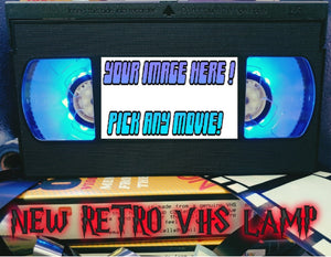 Make Your Own Retro VHS Lamp