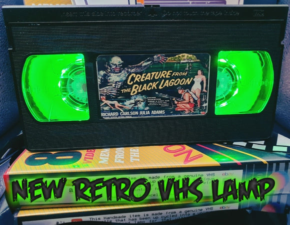 Creature from the Black Lagoon Retro VHS Lamp