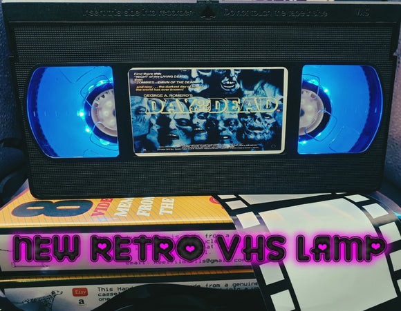 Day of the Dead Retro VHS Lamp