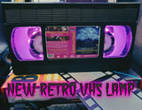 Friday Night Retro VHS Lamp