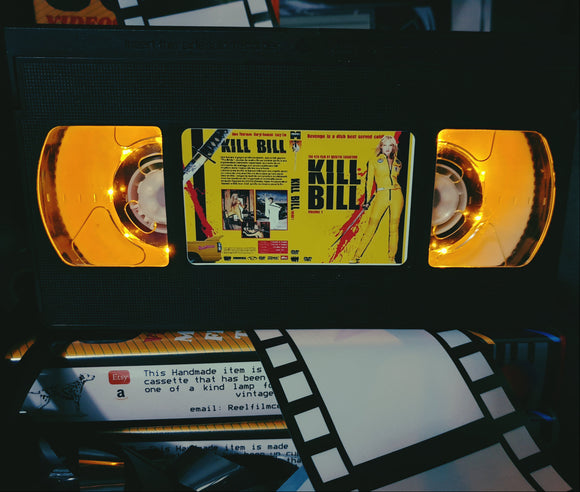 Kill Bill Retro VHS Lamp