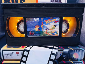 My Neighbor Totoro Retro VHS Lamp