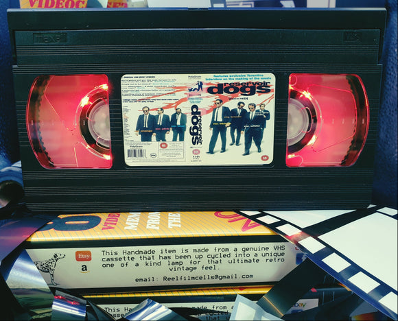 Reservoir Dogs Retro VHS Lamp