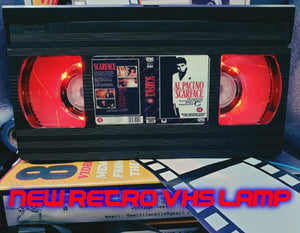 SCARFACE Retro VHS Lamp