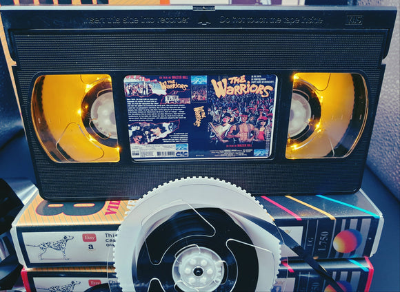 The Warriors Retro VHS Lamp