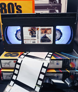 Titanic Retro VHS Lamp