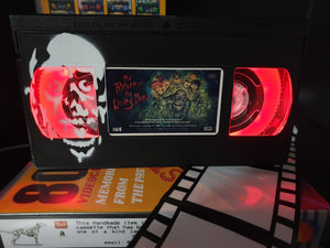 The Return of the Living Dead Retro VHS Lamp With Tarman Art Work