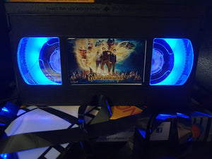 Goosebumps Retro VHS Lamp
