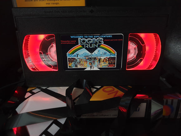 Logan's Run Retro VHS Lamp