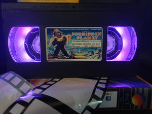Forbidden Plane Retro VHS Lamp