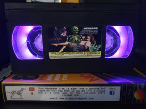 The Creeping Flesh Retro VHS Lamp