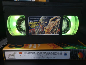 Prisoner of the Cannibal God Retro VHS Lamp