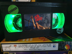 The Evil Dead Retro VHS Lamp