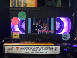 WaxWork  Horror Retro VHS Lamp