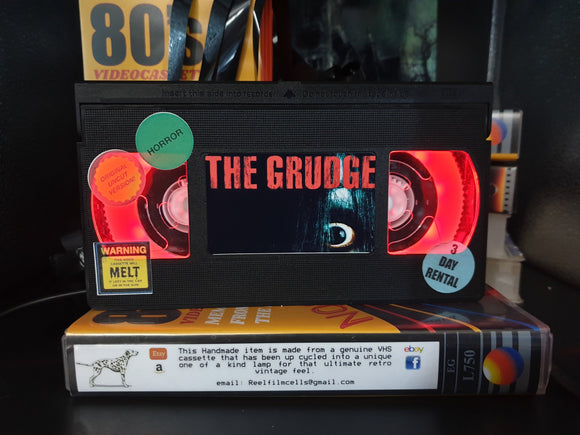 The Grudge (2004) Retro VHS Lamp