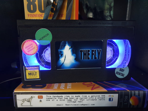The Fly Retro VHS Lamp