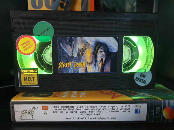 Street Trash Retro VHS Lamp