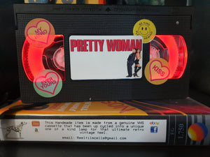 Pretty Woman Retro VHS Lamp