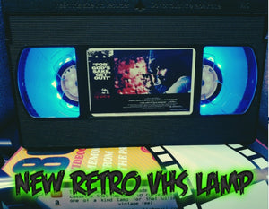 The Amityville Horror Retro VHS Lamp