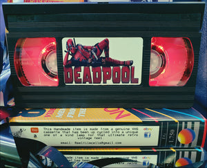 Deadpool Retro VHS Lamp