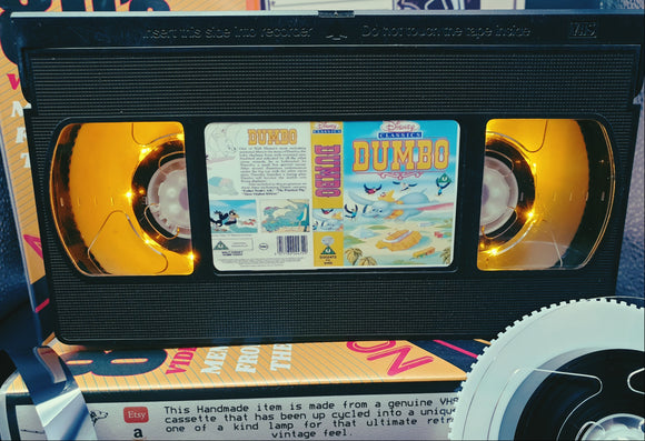 Dumbo Retro VHS Lamp