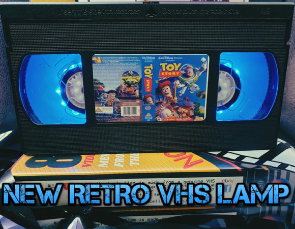 Toy Story Retro VHS Lamp