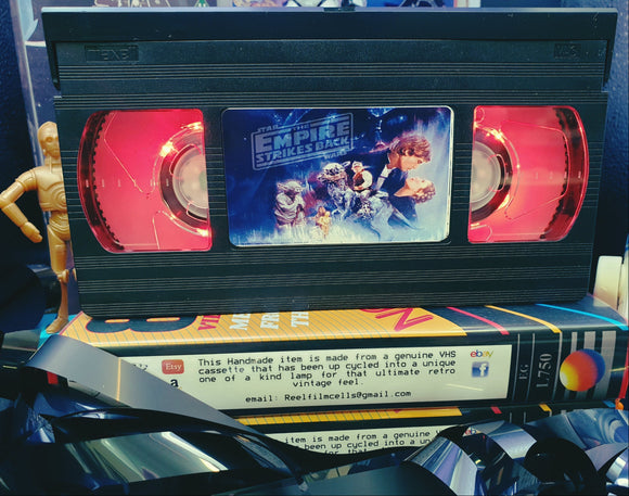 Star Wars The Empire Strikes Back Retro VHS Lamp