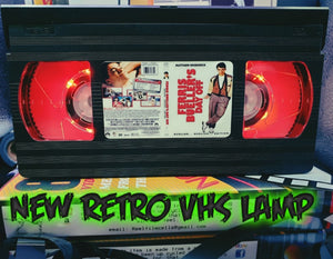 Ferris Bueller's Day Off Retro VHS Lamp