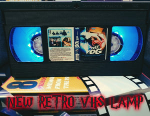 The Fog Horror Retro VHS Lamp