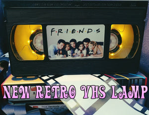 Friends! Retro VHS Lamp
