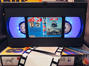 Jaws 3 Retro VHS Lamp