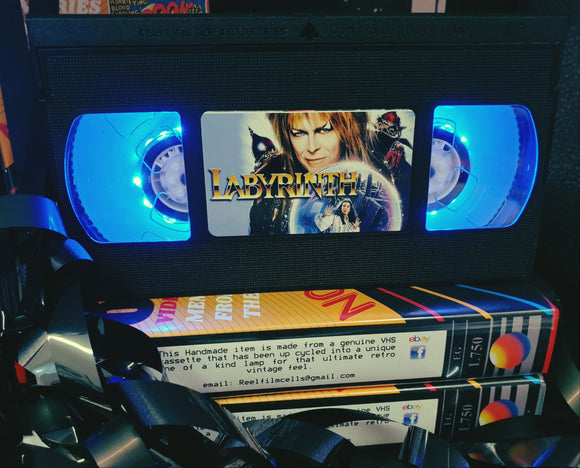 Labyrinth Retro VHS Lamp