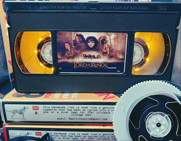 Lord Of The Rings Retro VHS Lamp