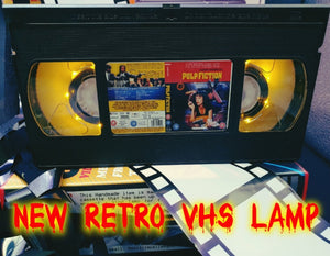 Pulp Fiction Retro VHS Lamp