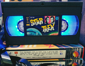 Star Trek Original Series S4 Retro VHS Lamp