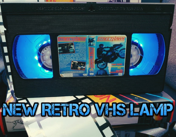 Street Hawk Retro VHS Lamp