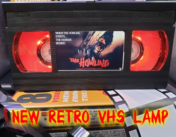 The Howling Retro VHS Lamp