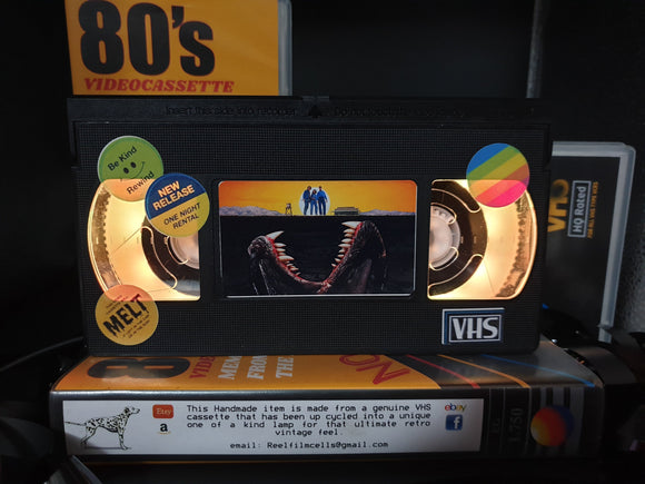 Tremors Retro VHS Lamp