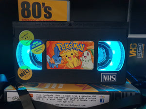 Pokamon Retro VHS Lamp
