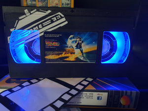 Back to the Future Retro VHS Lamp with Art Work
