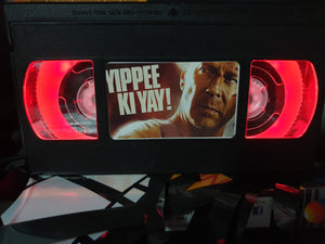 Die Hard Retro VHS Lamp